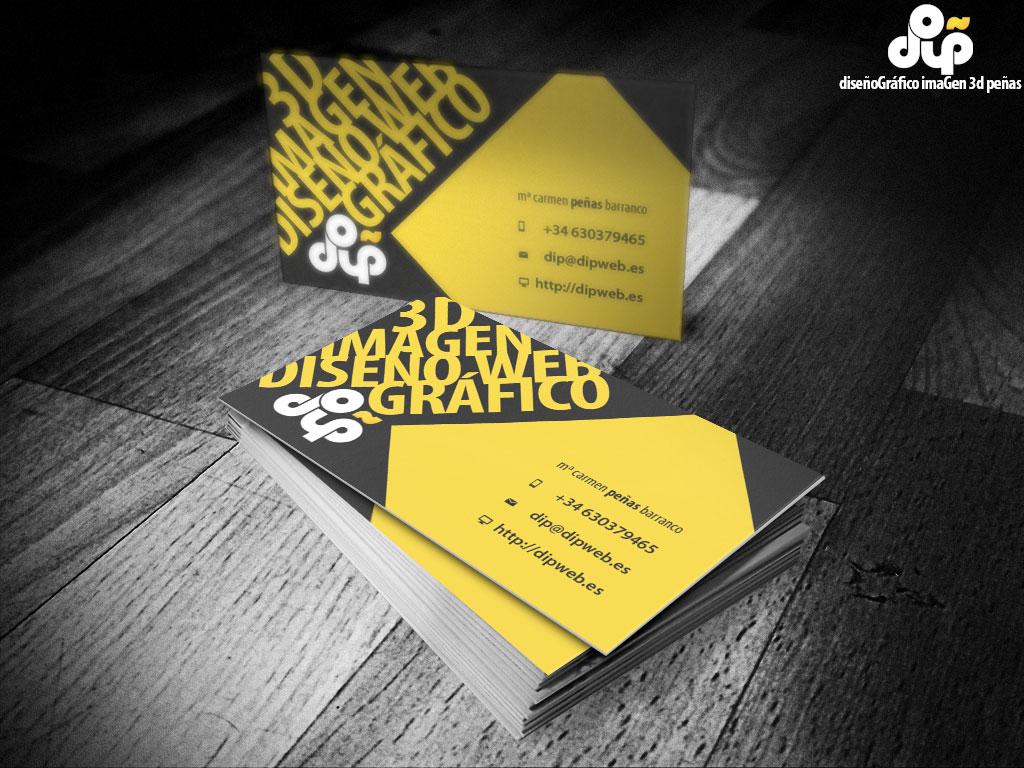 tarjetas de visita dip