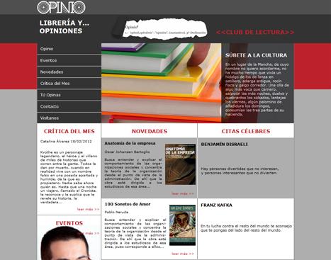 OPINIO Librería y Opiniones